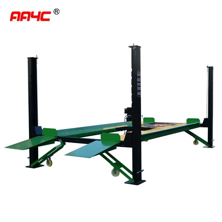 Mobile 4 post parking lift ,AA-4P35MP