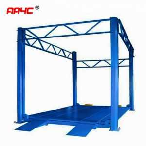high rise 4 post elevator Full platform ,Lifting height 3M-7M;