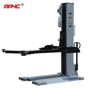 Electrical Super thin basement  Hydraulic mobile 1 post lift AASP-YY2.5E