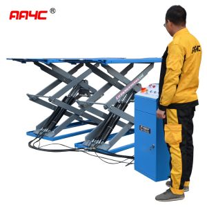 Low profile scissor lift, 3.0T,AA-SL301,Min height 100mm