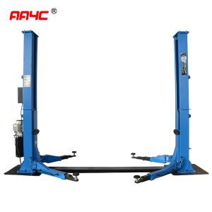 Automatic unlock ,floorplate car lift ,5.5T,AA-2PFP55E