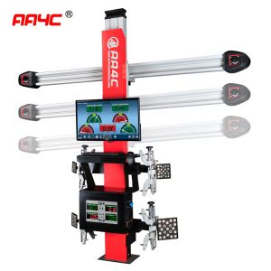3D wheel alignment  AA-DT111BT   (Camera beam Manually move+2  monitors)