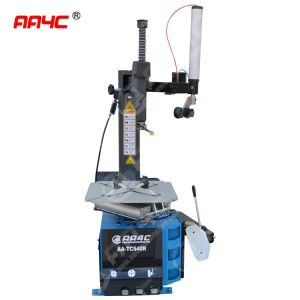 Tire changer with right helper