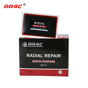 Radial tubeless tire cold repair patch