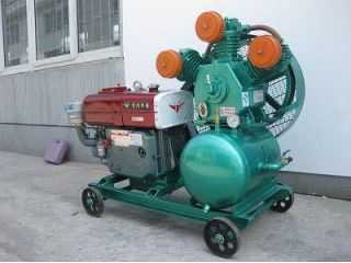 Diesel Electrical air compressor  -Piston type
