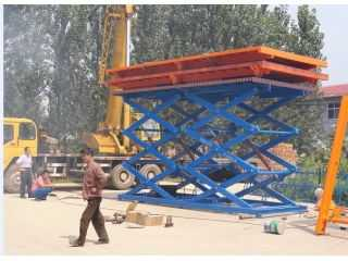 Scissor lift platform ,3M-7M lifing height,3T to 7T capacity