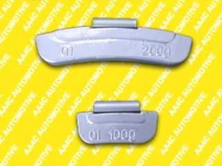 Iron clip-on wheel weights