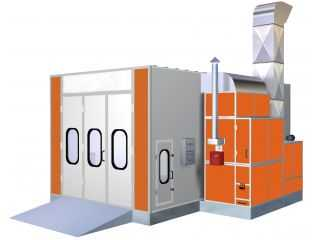 Mid-Bus Spray Booth  AA-FB9*4.5*3.5(9m*4.5m*3.5m)