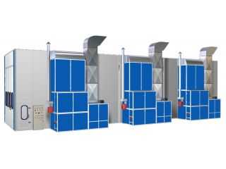 Bus Spray Booth  AA-FB20*5*5( 20m*5m*5m)