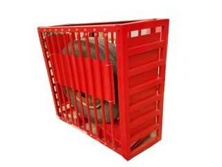 Tire Inflation Cage with tire moving roller AA-TIC140